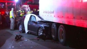 Crash Between Car and Semi Leaves One Dead