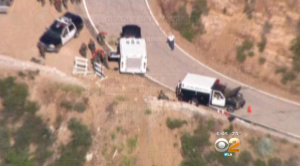 Two Killed After Car Plunges 800 Feet Down Embankment