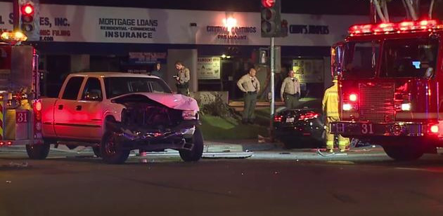 Fatal Crash in Paramount
