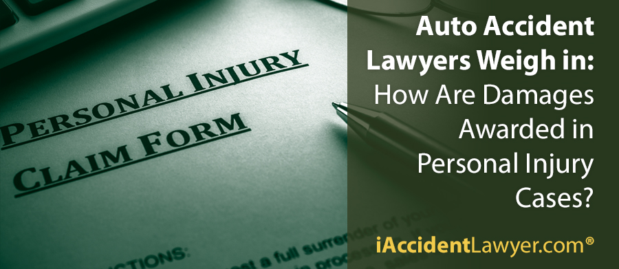 How Are Damages Awarded in Personal Injury Cases