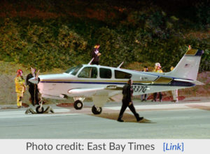 Single-Engine Plane Makes Emergency Landing on 55 Fwy in Costa Mesa