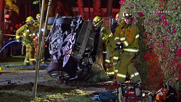 Los Angeles Car Accident