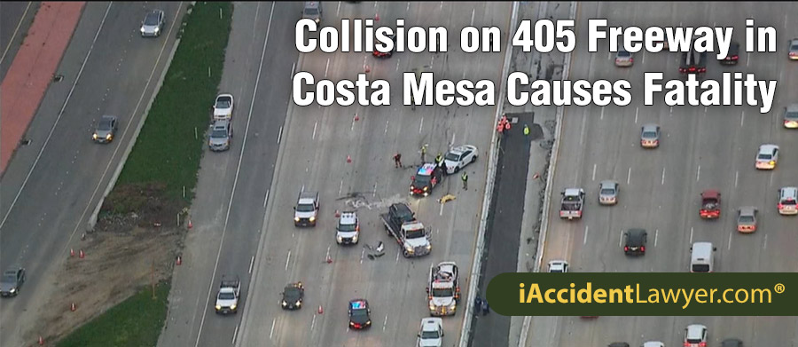 405 Freeway Accident Today