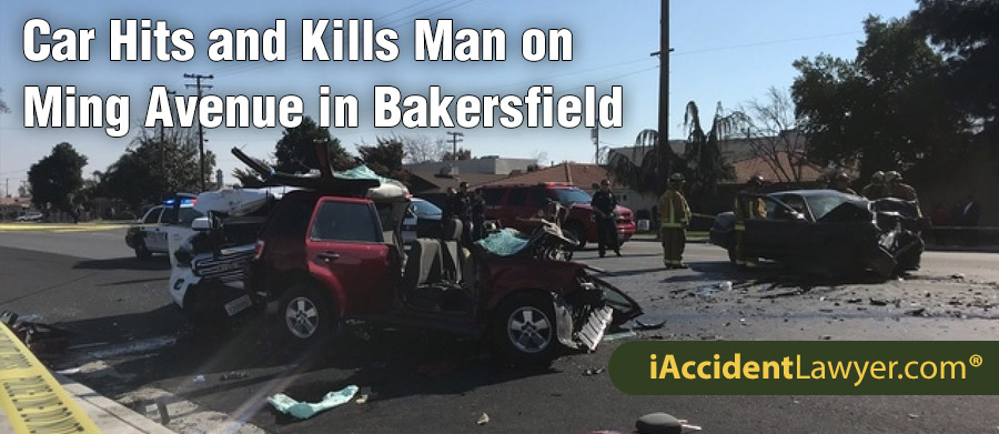 Bakersfield, CA - Car Hits and Kills Man on Ming Avenue